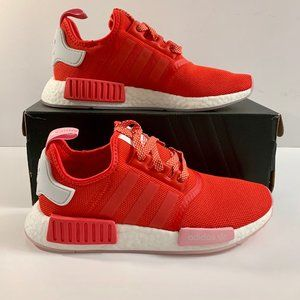 Adidas Shoes New Nmd R1 Womens Sneakers Size 8 Red Pink Poshmark